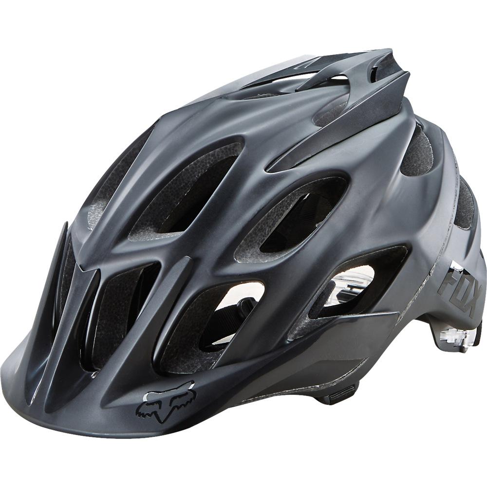 91a51dfa2 Fox Flux Matte Black Helmet
