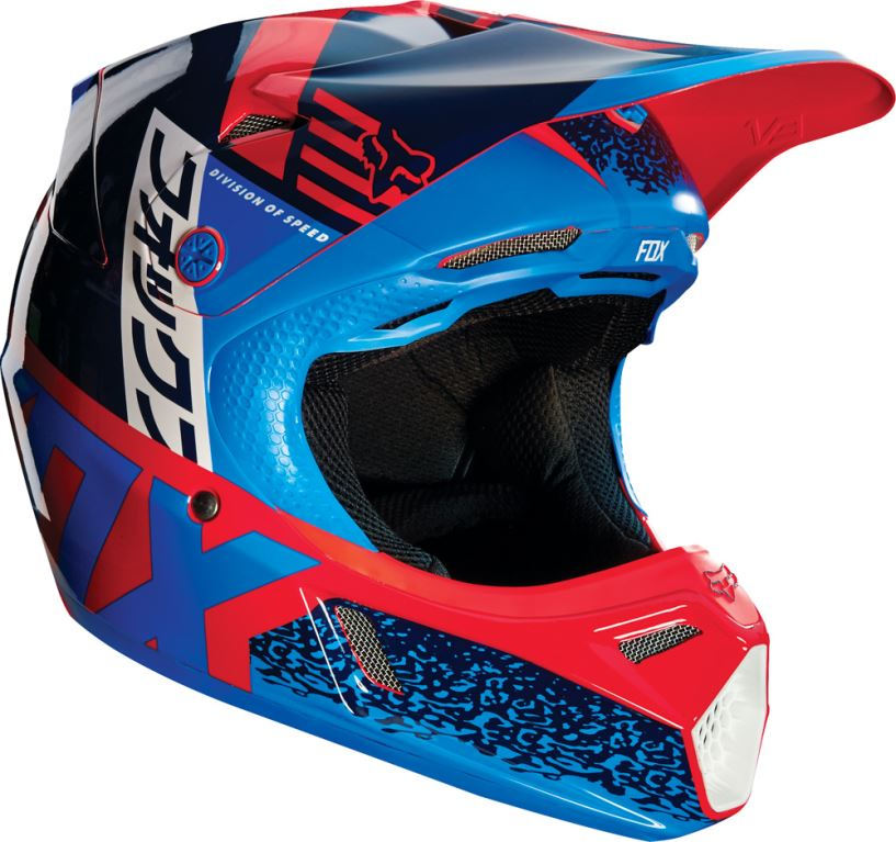 Fox Racing Yth V3 Divizion Helmet