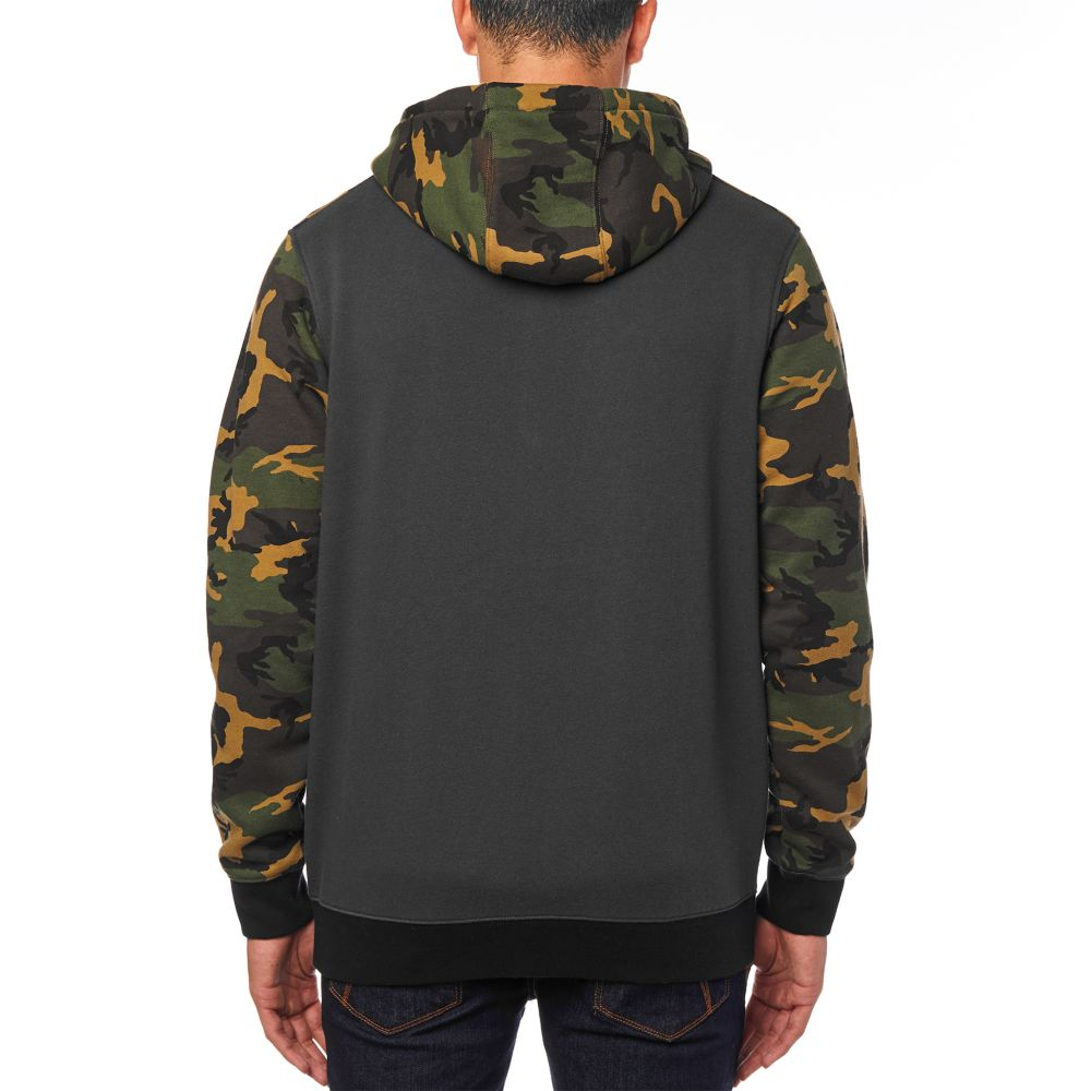 d3a9e09a3f Fox Destrakt Zip Fleece