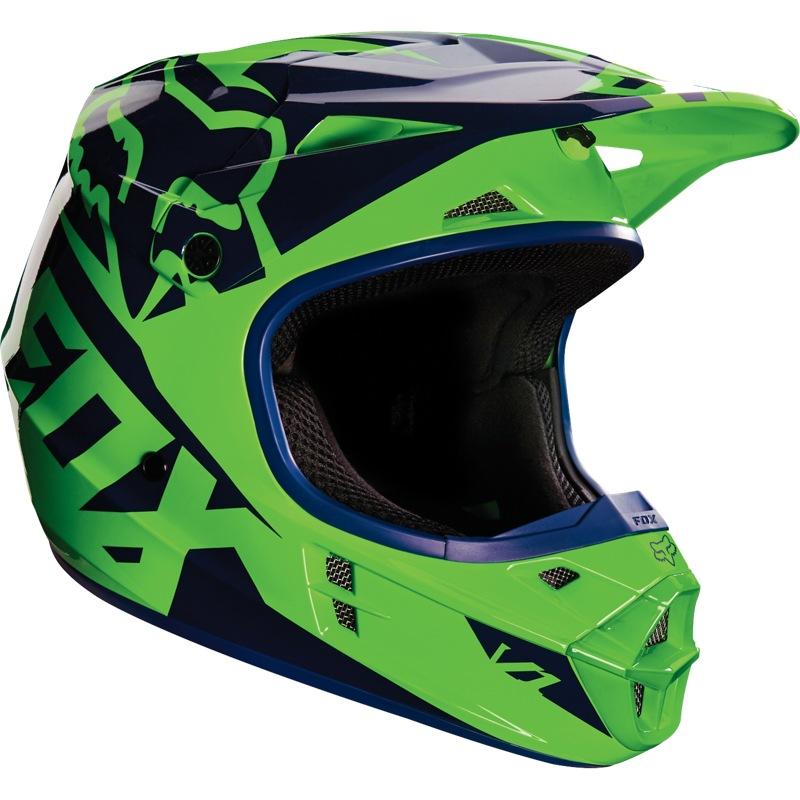 82d649f6bb1 Fox V1 Race 16 Helmet