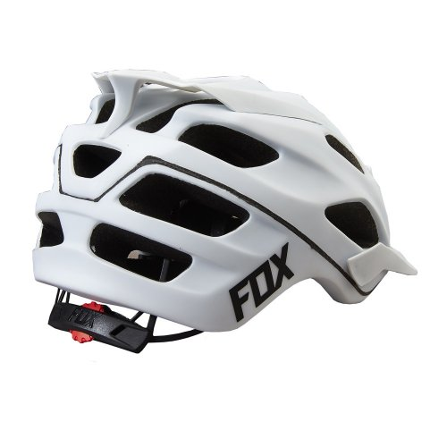 Fox Flux White Helmet