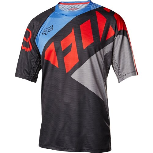 Fox Demo Seca Jersey (black/grey/red)